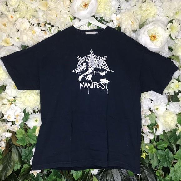25485760f5d37 Footlong Development Gang Starr Manifest T-Shirt